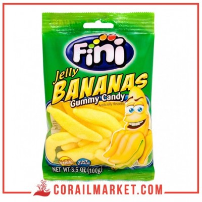 Fini Jelly Bananas 100G
