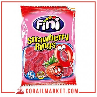 FINI - Strawberry Ring 100G