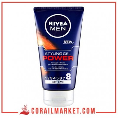 Gel fixant power 8 nivea m'en 150 ml