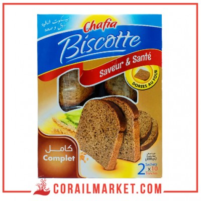 biscottes complet CHAFIA 220 g