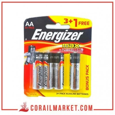 pile Energizer MAX – Blister Pack 4 – AA