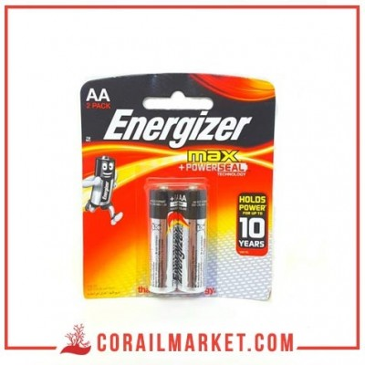 pile Energizer MAX – Blister Pack 2 – AA