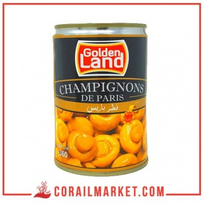 Champignon entiers golden land 360g